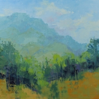 """""""Abstracted View Grandfather"""" 26x30 Available at Blowing Rock Frameworks and Gallery"""