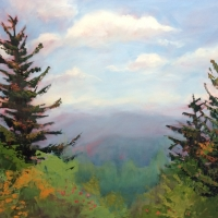 As Far as the Eye Can See-30x40 Available at Blowing Rock Frameworks and Gallery