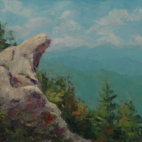Blowing Rock Vista- 22x28 Available at Blowing Rock Frameworks and Gallery