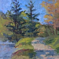 Favorite Spot 8x10 Available at Blowing Rock Frameworks and Gallery