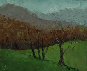 Boone, Blowing Rock, NC mountains, Plein Air