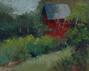 Garden Shed PM-8x10-oil-linen