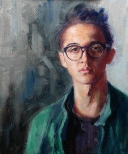 Kalvin, Portrait of a Young Man  AWA National Juried Show, Award of Merit