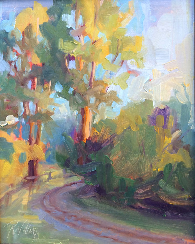 """Morning Light"" 8x10 oil"