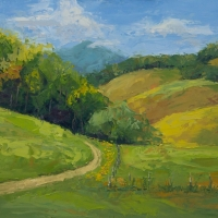Fields By the Manor 18x24 Available at Blowing Rock Frameworks and Gallery
