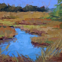 Marsh at DeBordieu, 8x10, Sold