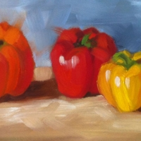peppers-6x14-oil-on-board